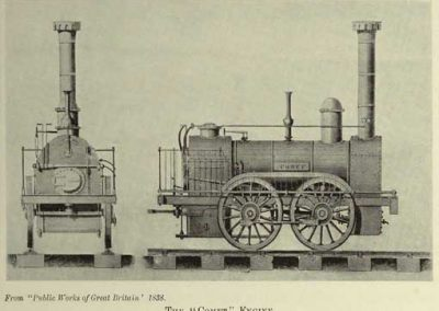 Comet Locomotive