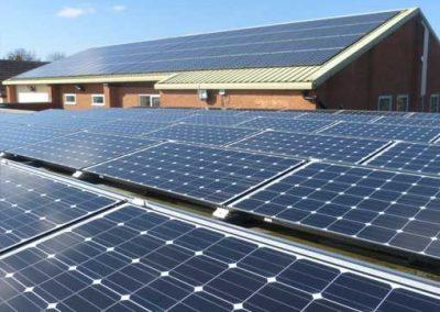 Solar Panels at SiD
