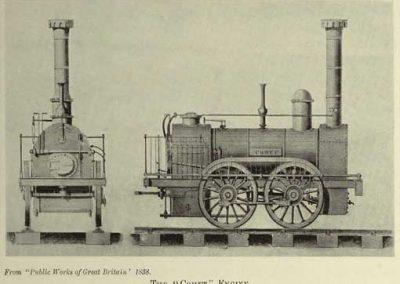 Comet Locomotive